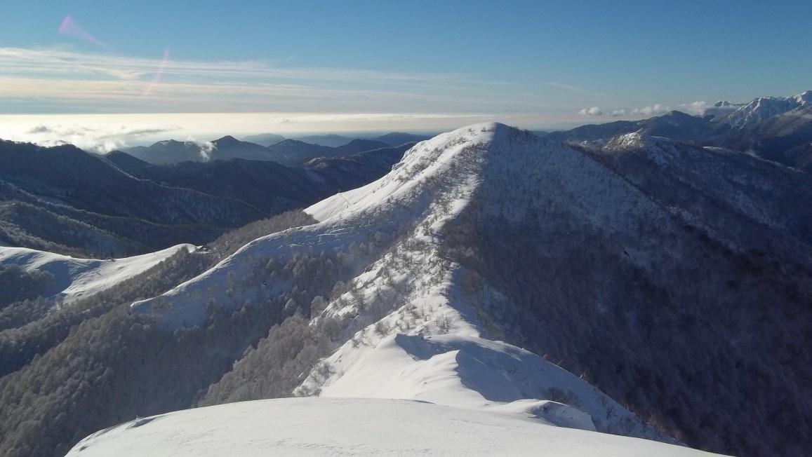 Croce (Monte) anello da Quarna Sotto per Monte Novesso 2013-12-29