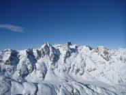 vue du massif Clapier Gelas...