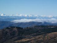 Le Alpi Liguri dalla vetta