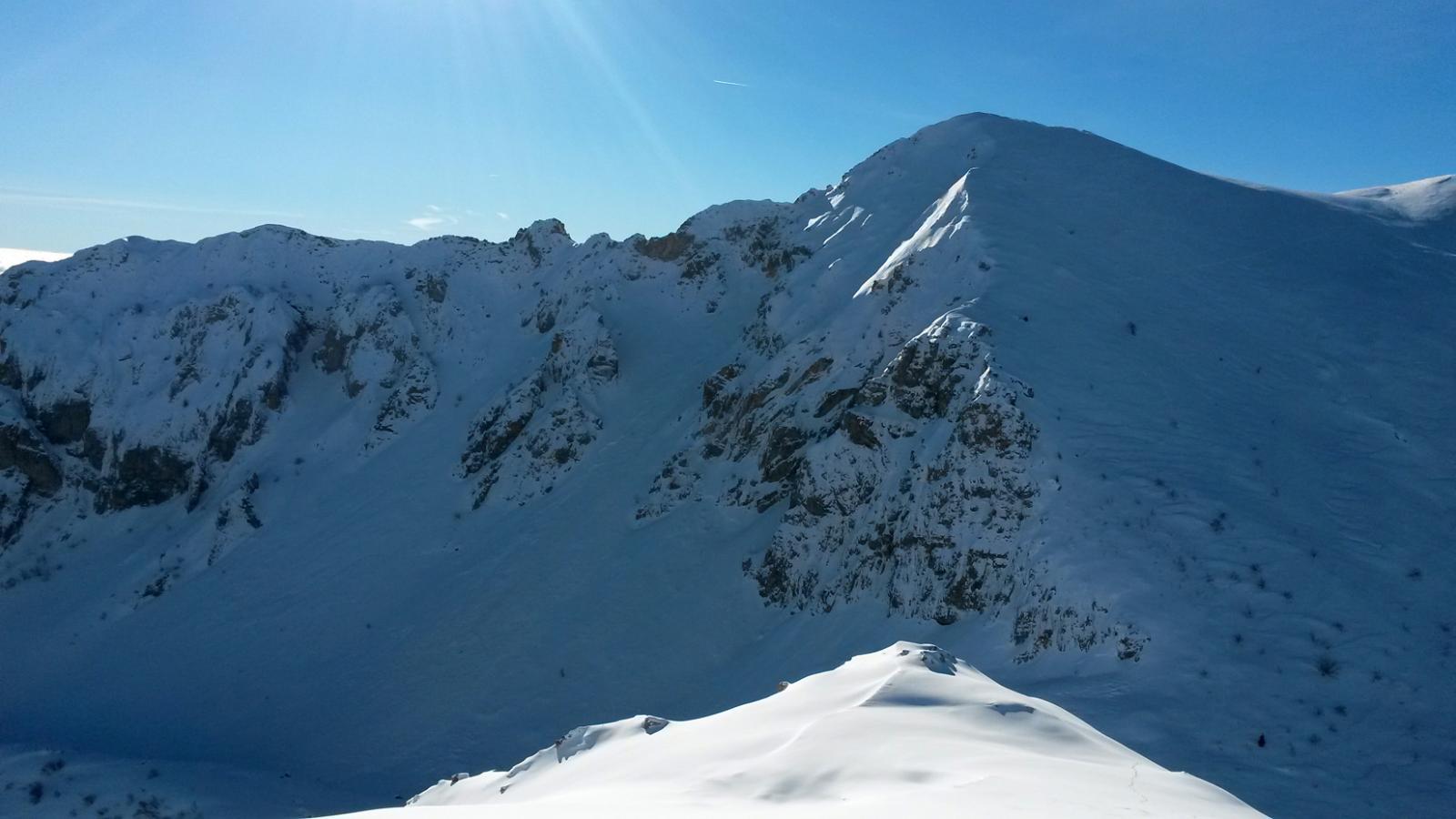 Il versante Nord-Est del Monte Antoroto