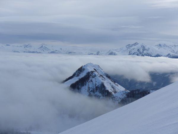 Il Tagliarè buca le nebbie