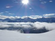 Alpi Marittime dall'Alpe di Rittana
