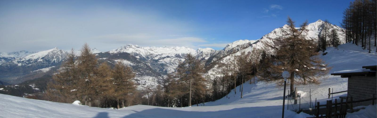 panorama dall'alpe