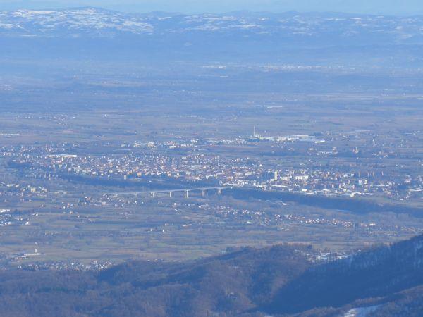 Cuneo dall'Alpe di Rittana