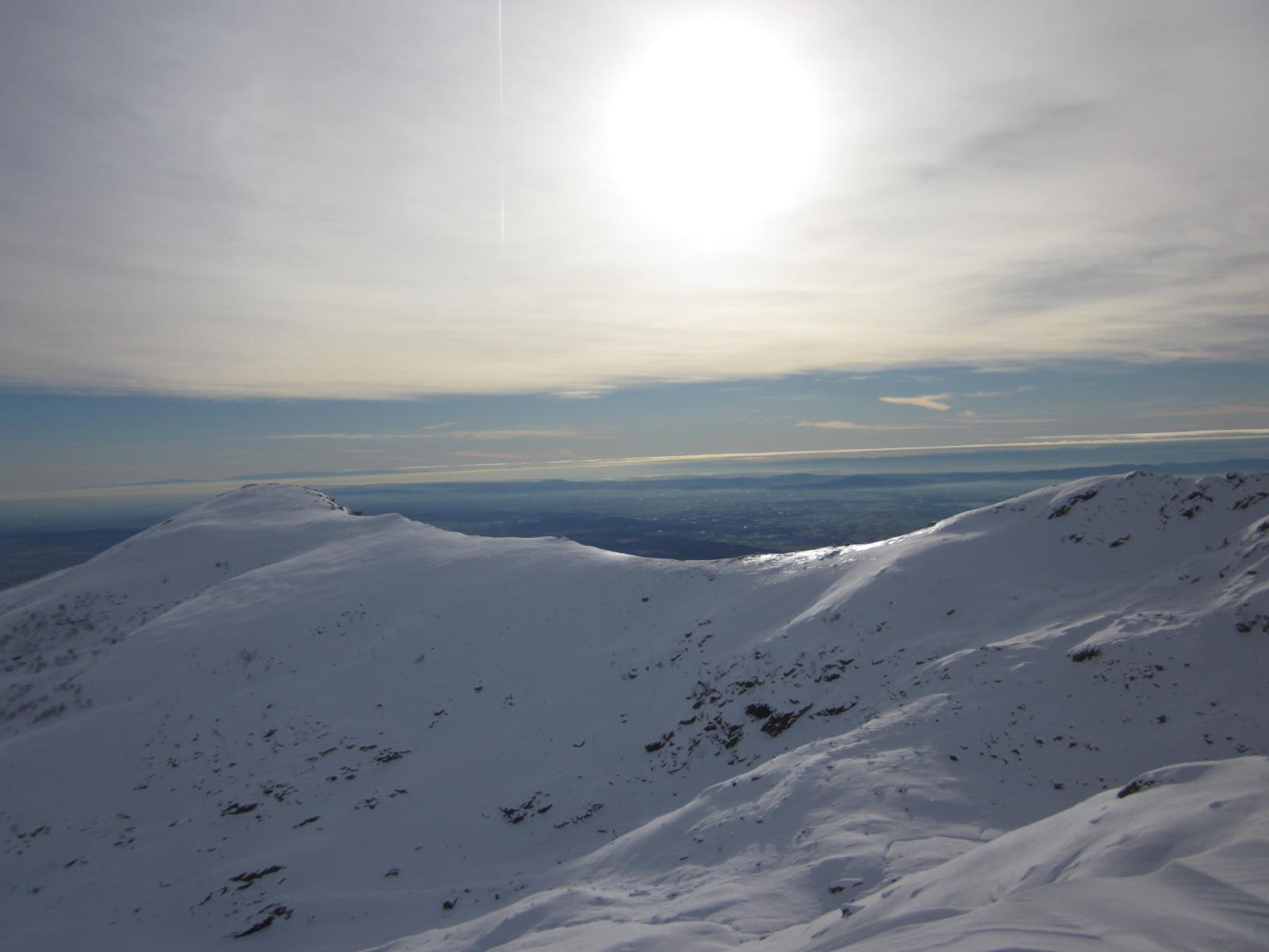 Monte Lion e pianura