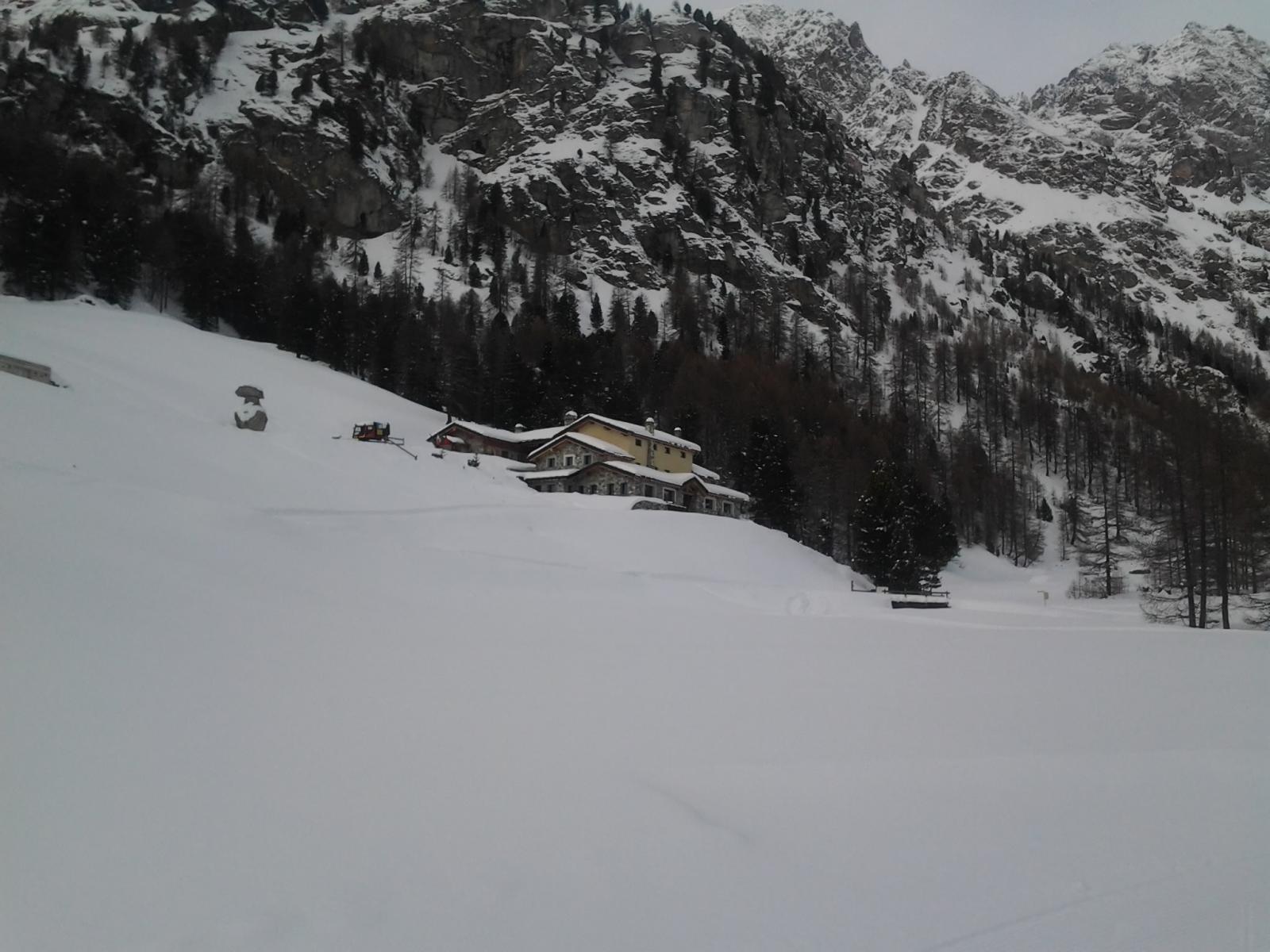Rifugio La Servaz (purtroppo chiuso)
