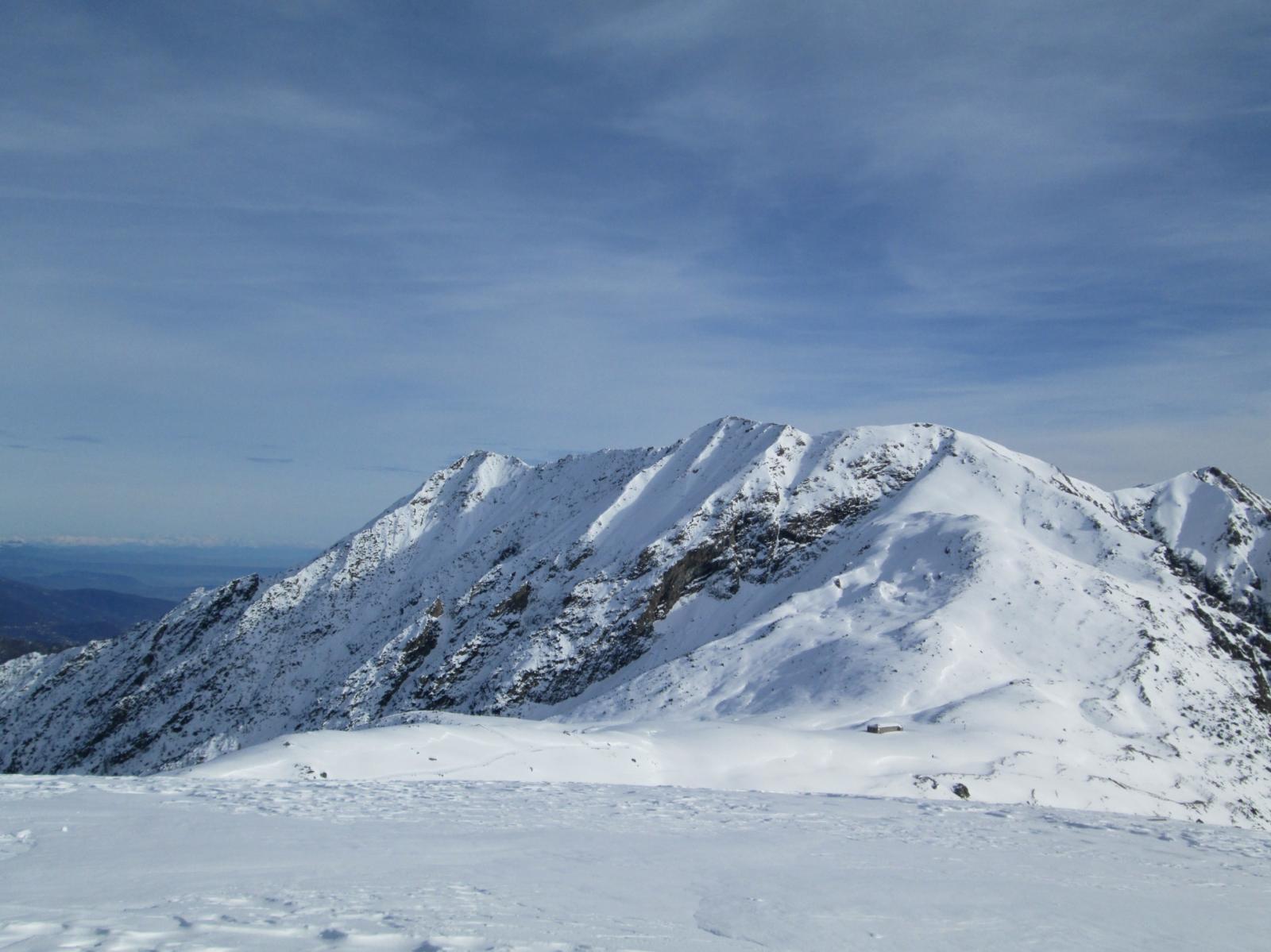 cresta del monte Civrari