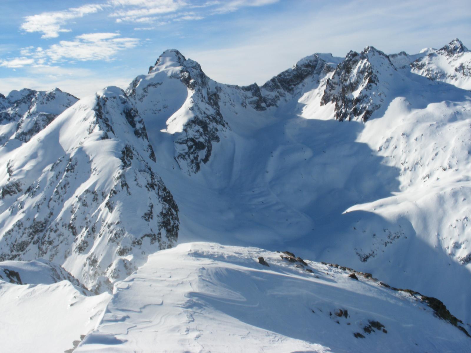 Becco d'Ischiator dalla cima