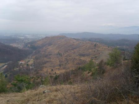 Panorama sui monti pelati