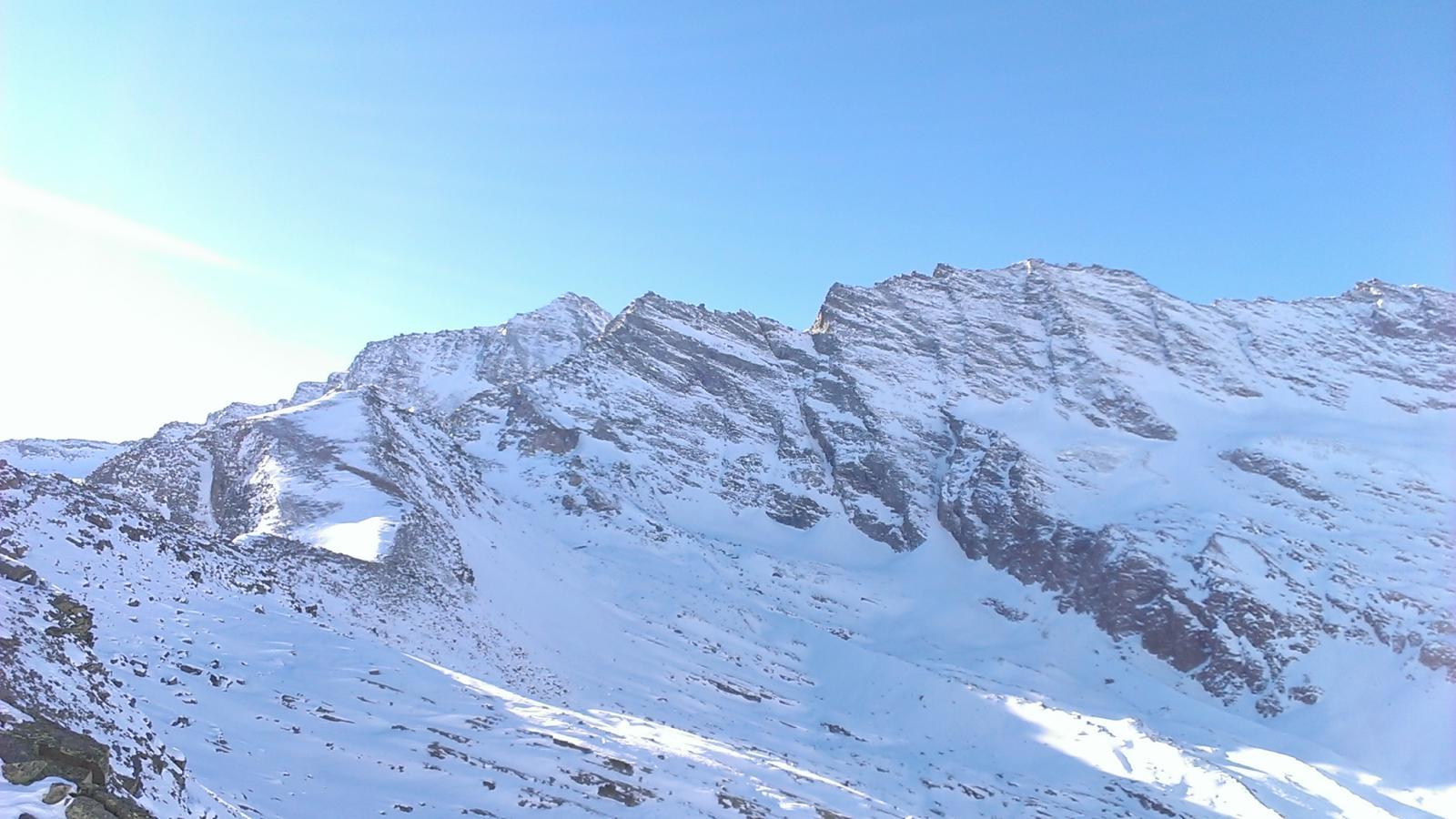 Panorama verso le Levanne