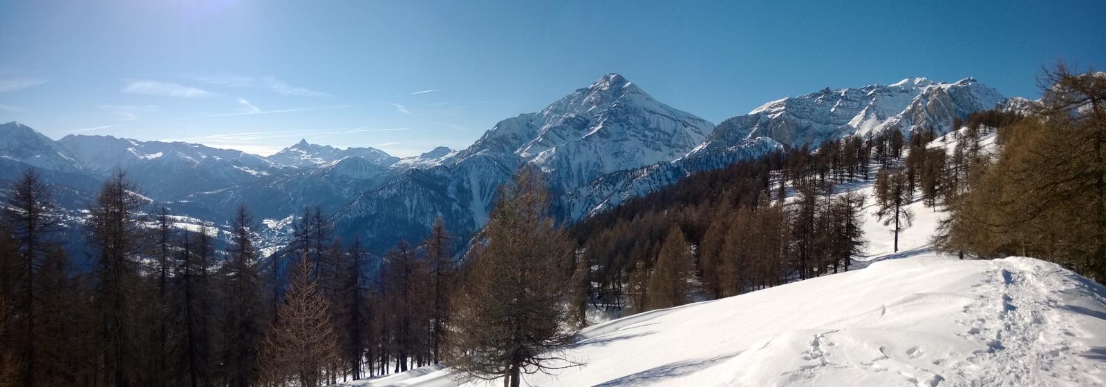 Panorama dalla cima (bellissimo lo Chaberton)