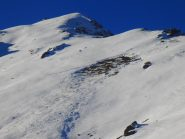 Distacco dalla cresta Bianasso