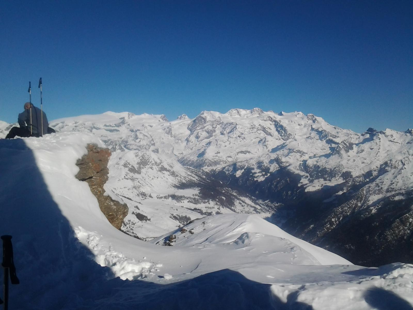 Dal Breithorn occidentale all punta Giordani