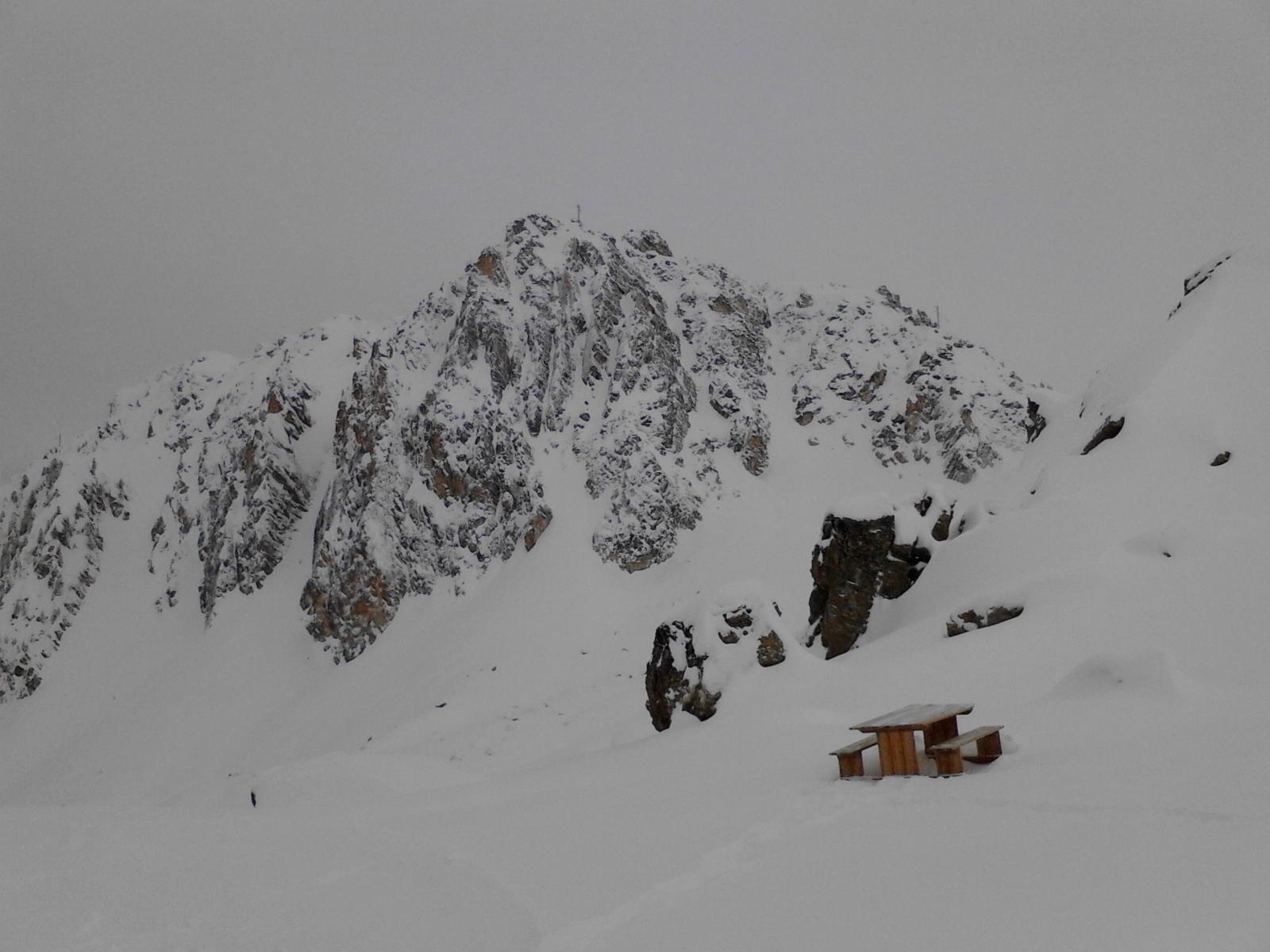 01 - pointe du Fond Blanc vista dall'arrivo della seggiovia Comborciere