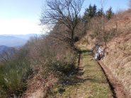 tratto dell'alta via dei monti liguri