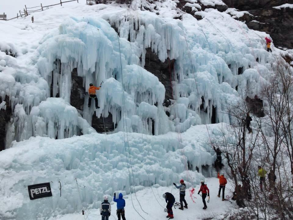 Le Lombard (Falesia Ice) 2014-01-20
