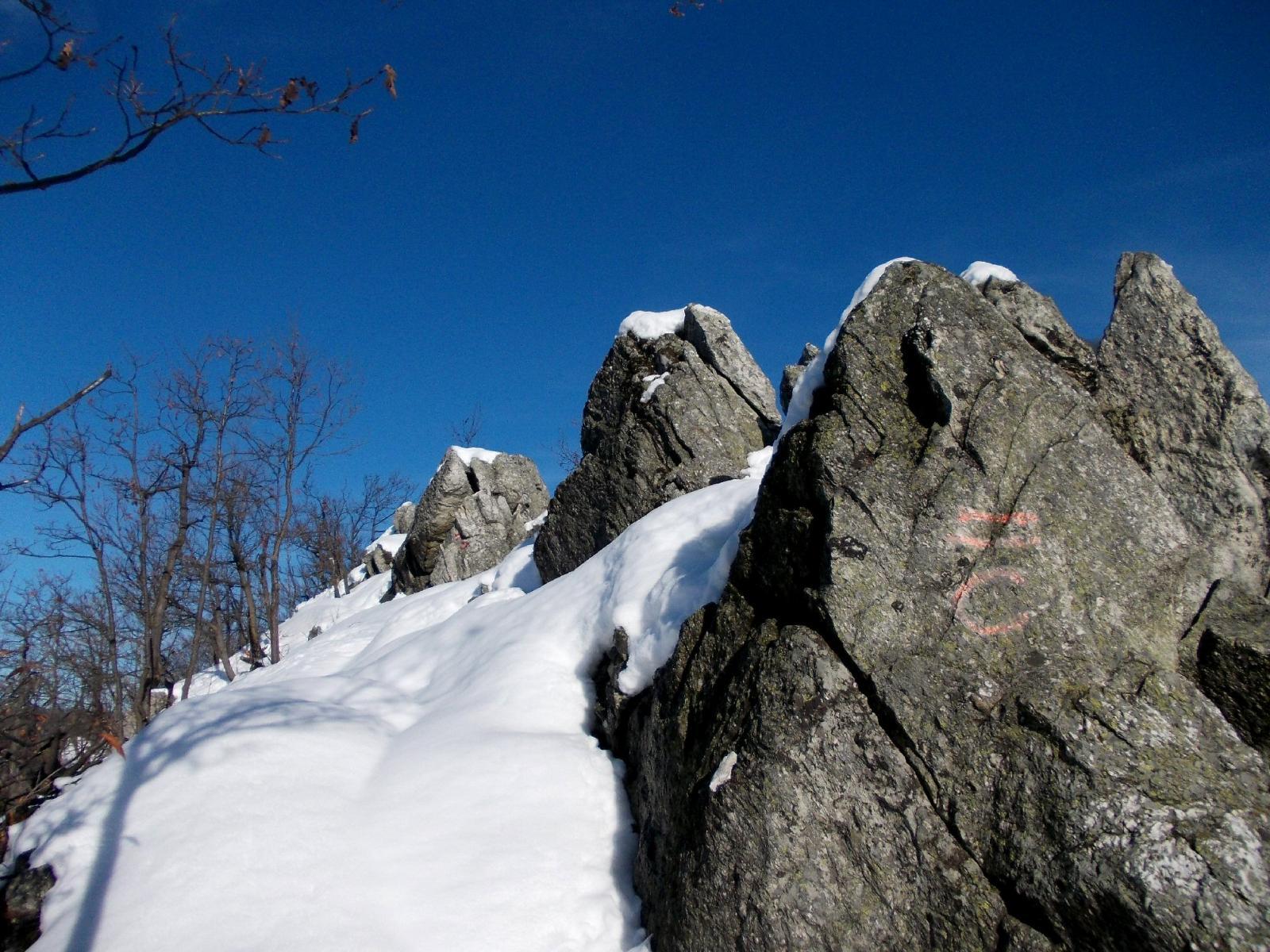 le roccette sulla cima