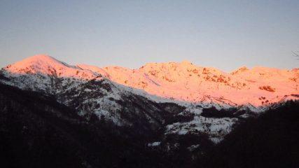 I colori dell'alba....
