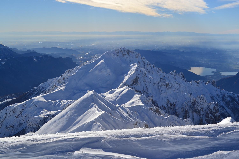 la Grignetta vista dalla vetta del Grignone