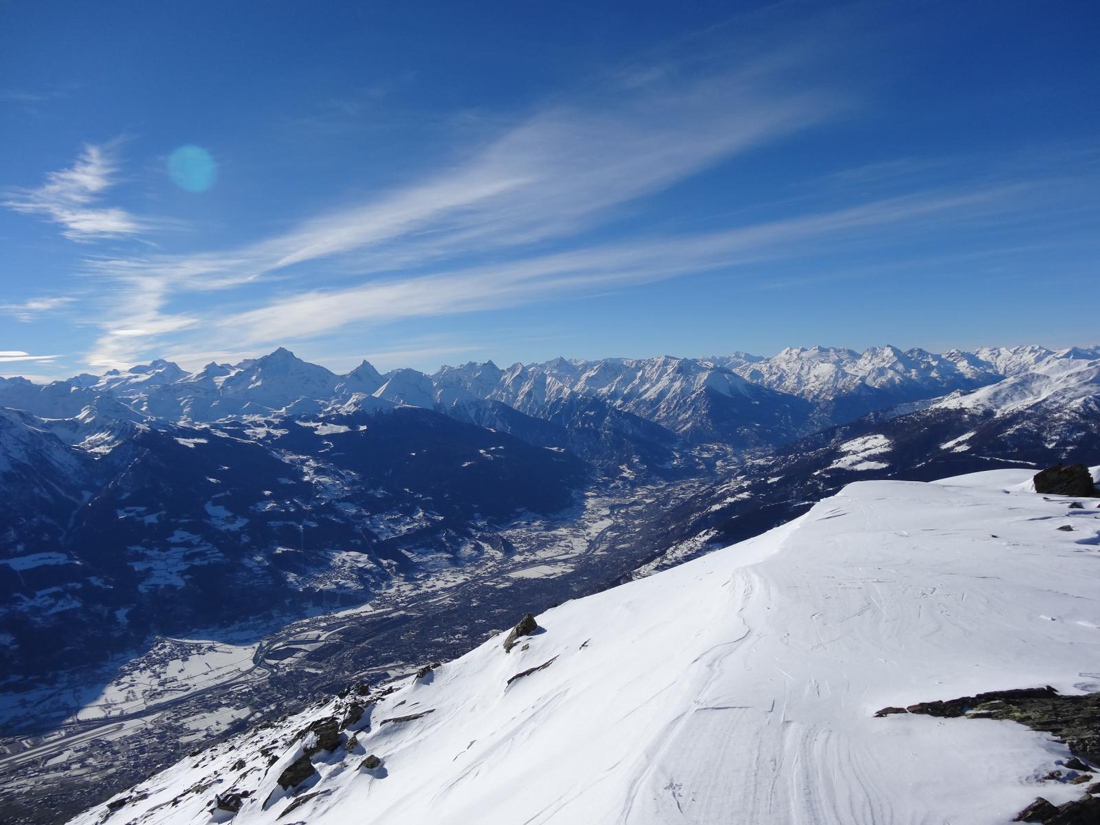 Aosta e la vallata centrale