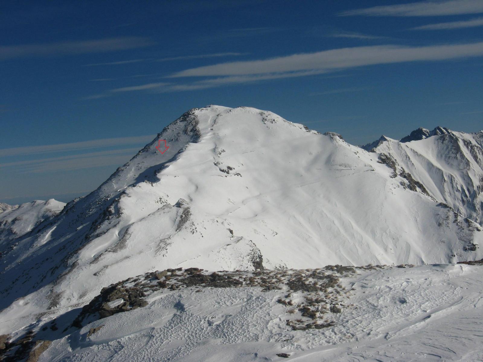 Ciantiplagna: la discesa da nord ovest sarebbe la fine degli sci!