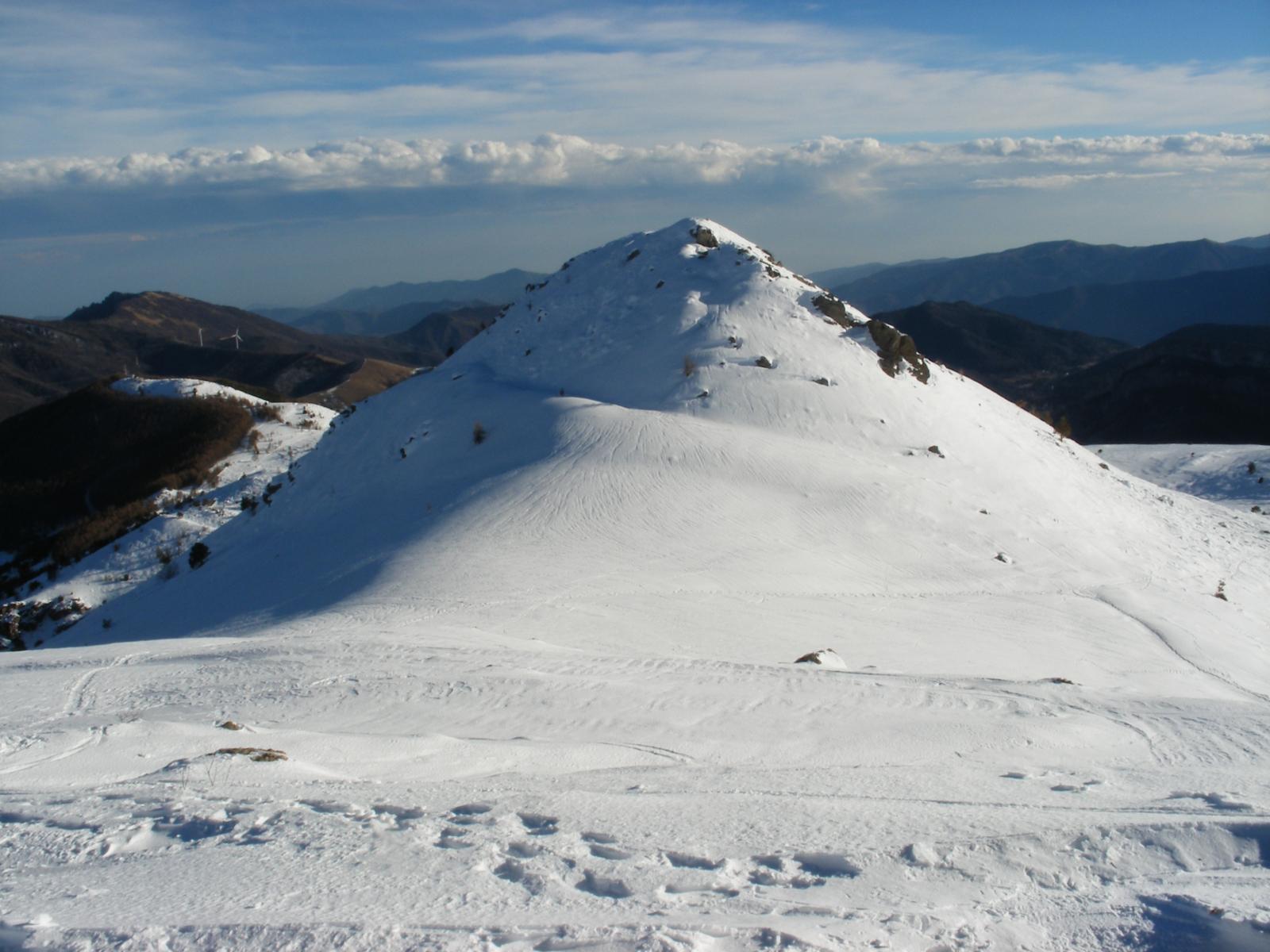 il Monte Castello di Quarzina