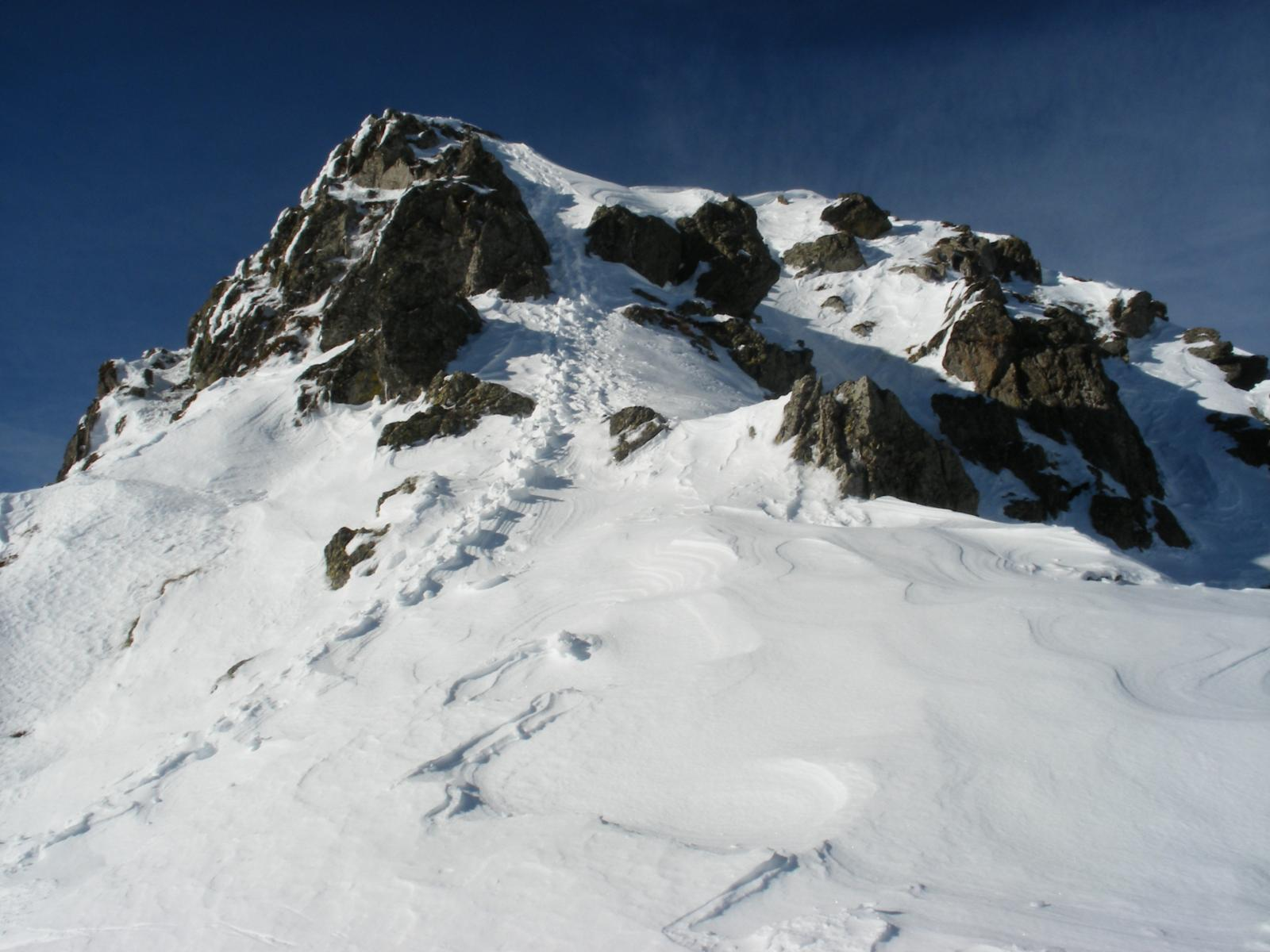 parte finale alpinistica