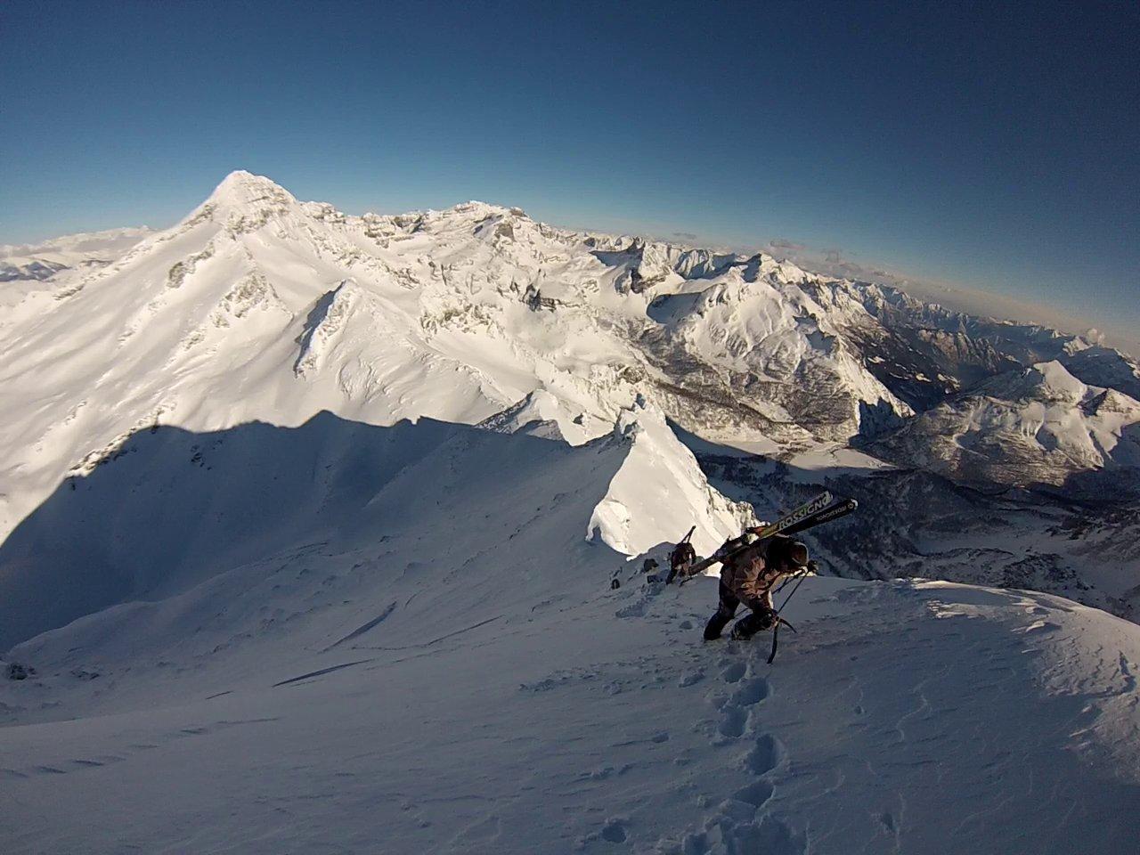 Aurona (Punta d') versante N 2014-01-28