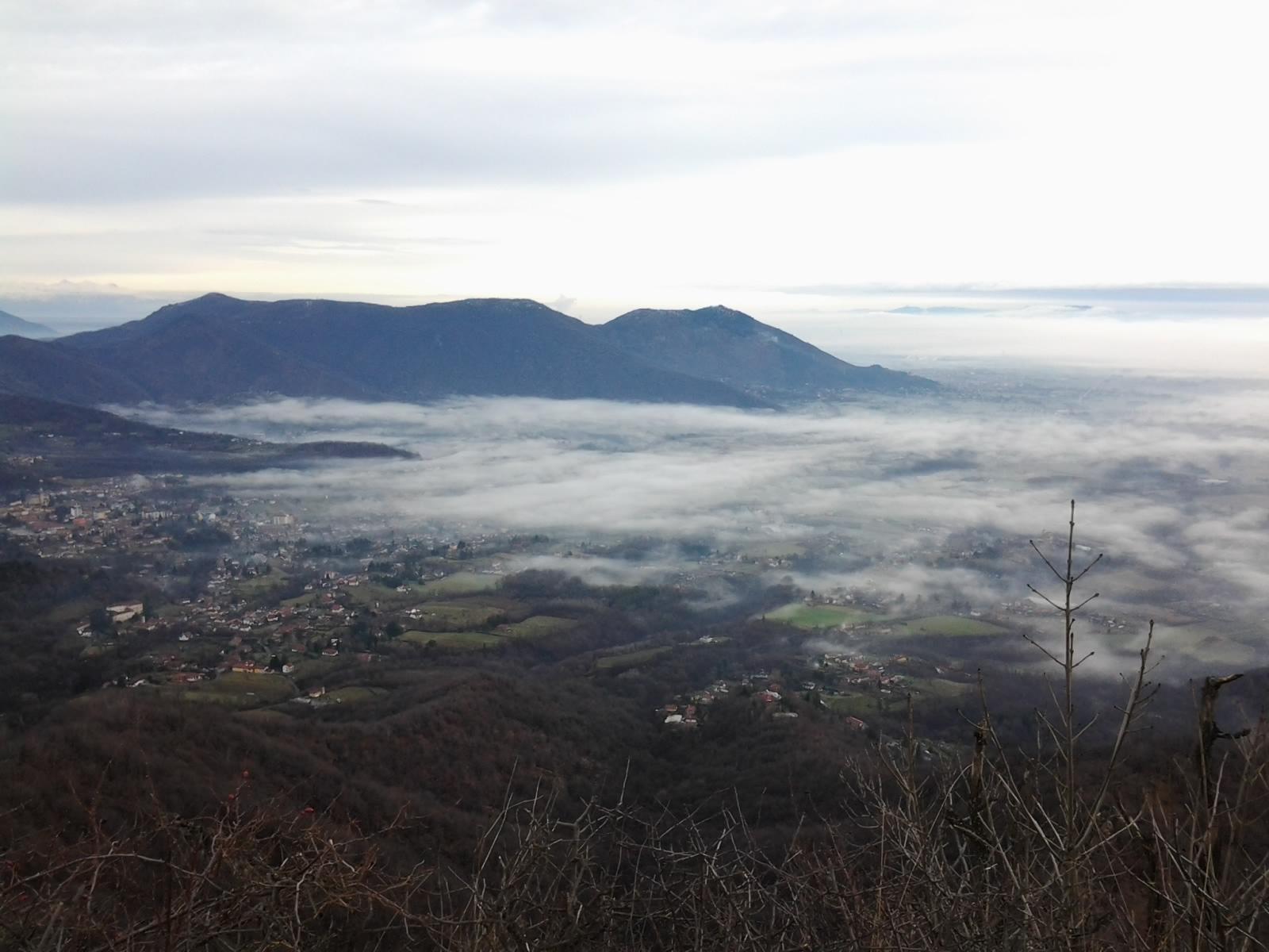 Due Denti (Rocca) da San Gervasio, anello per colle Marione 2014-02-08