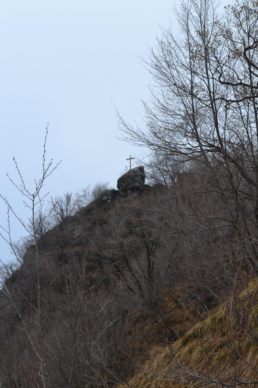 in vista della croce di vetta
