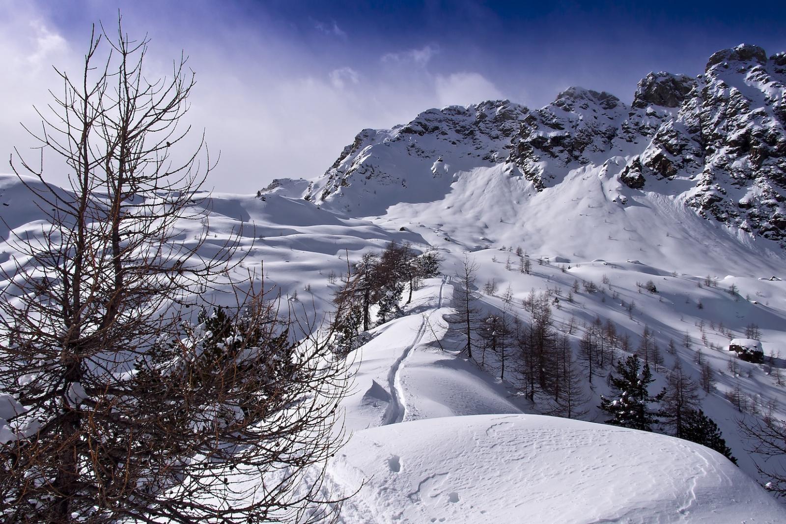 Bellissima dorsale sopra l'Alpe di Pana