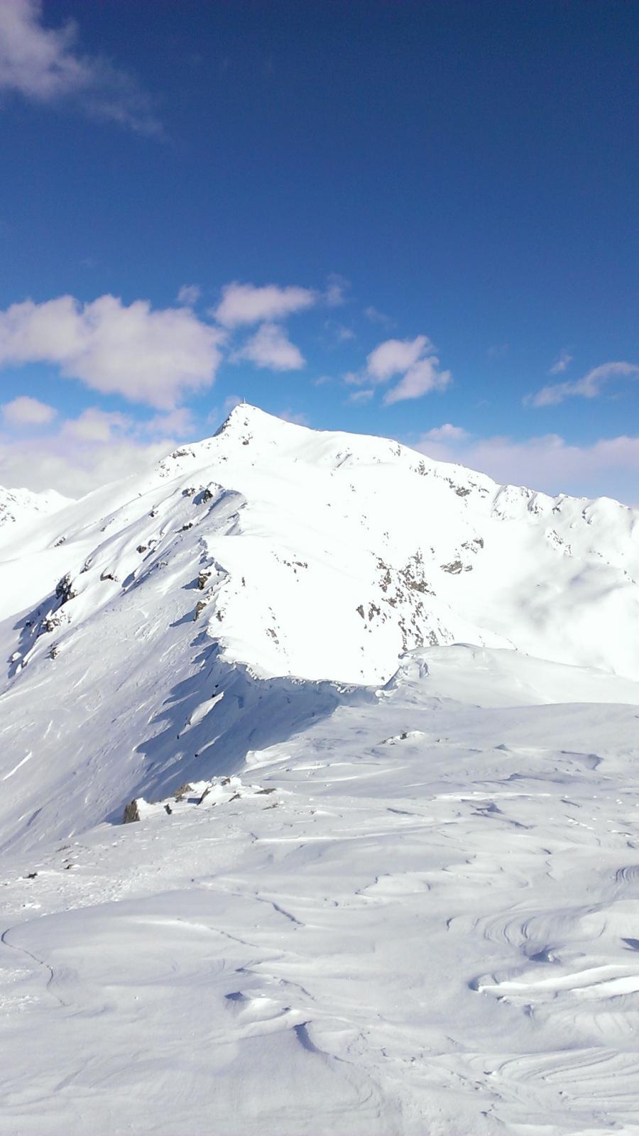 Cresta patagonica verso il Mombarone