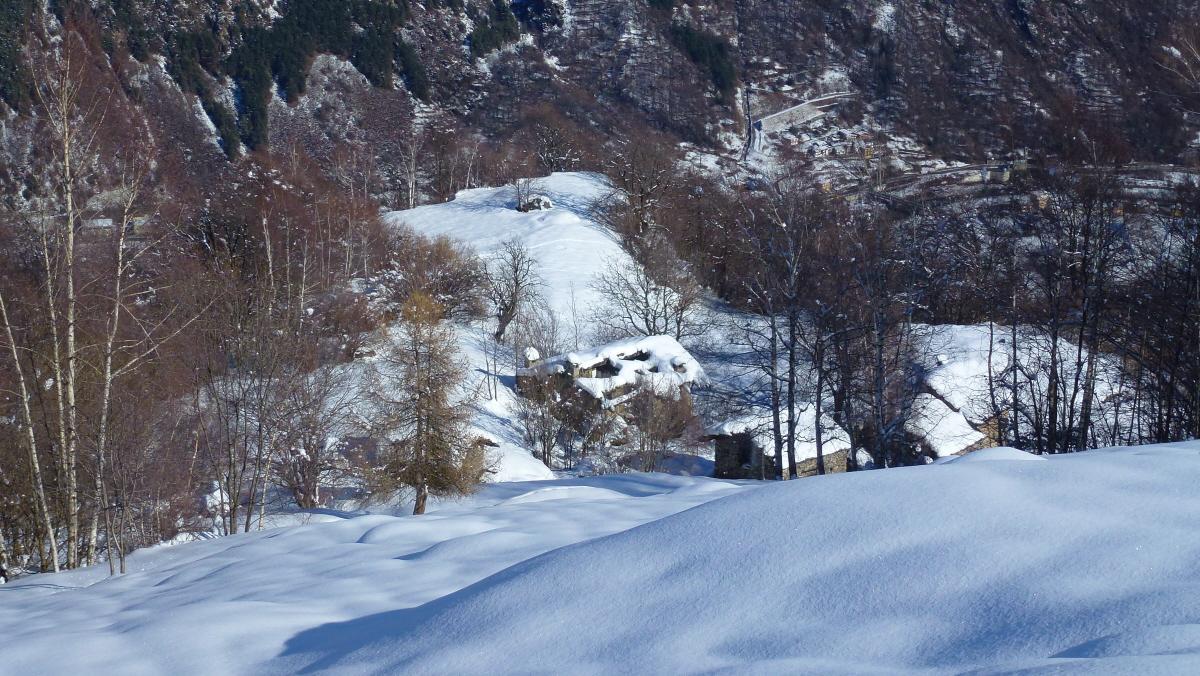 Faggio (Croce del) e Punta Croce da Fucina Alta 2014-02-11