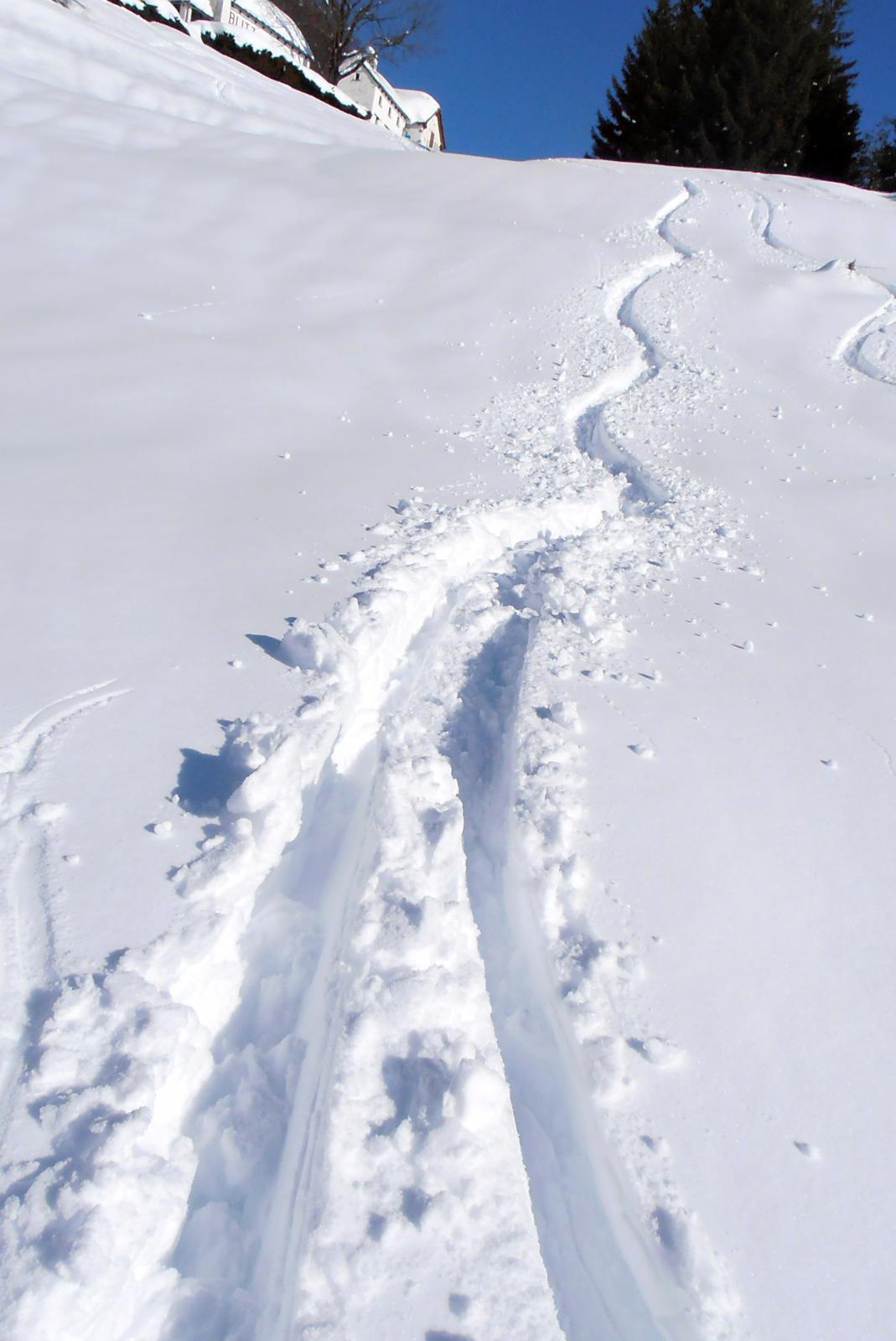 neve un po' pesante