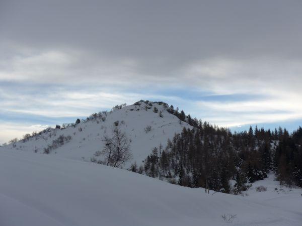 Monte Roccerè dal Colle della Ciabra