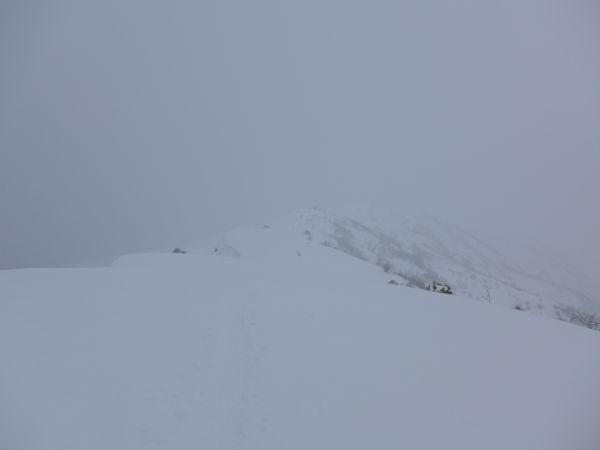 Crinale per il Monte Cornet