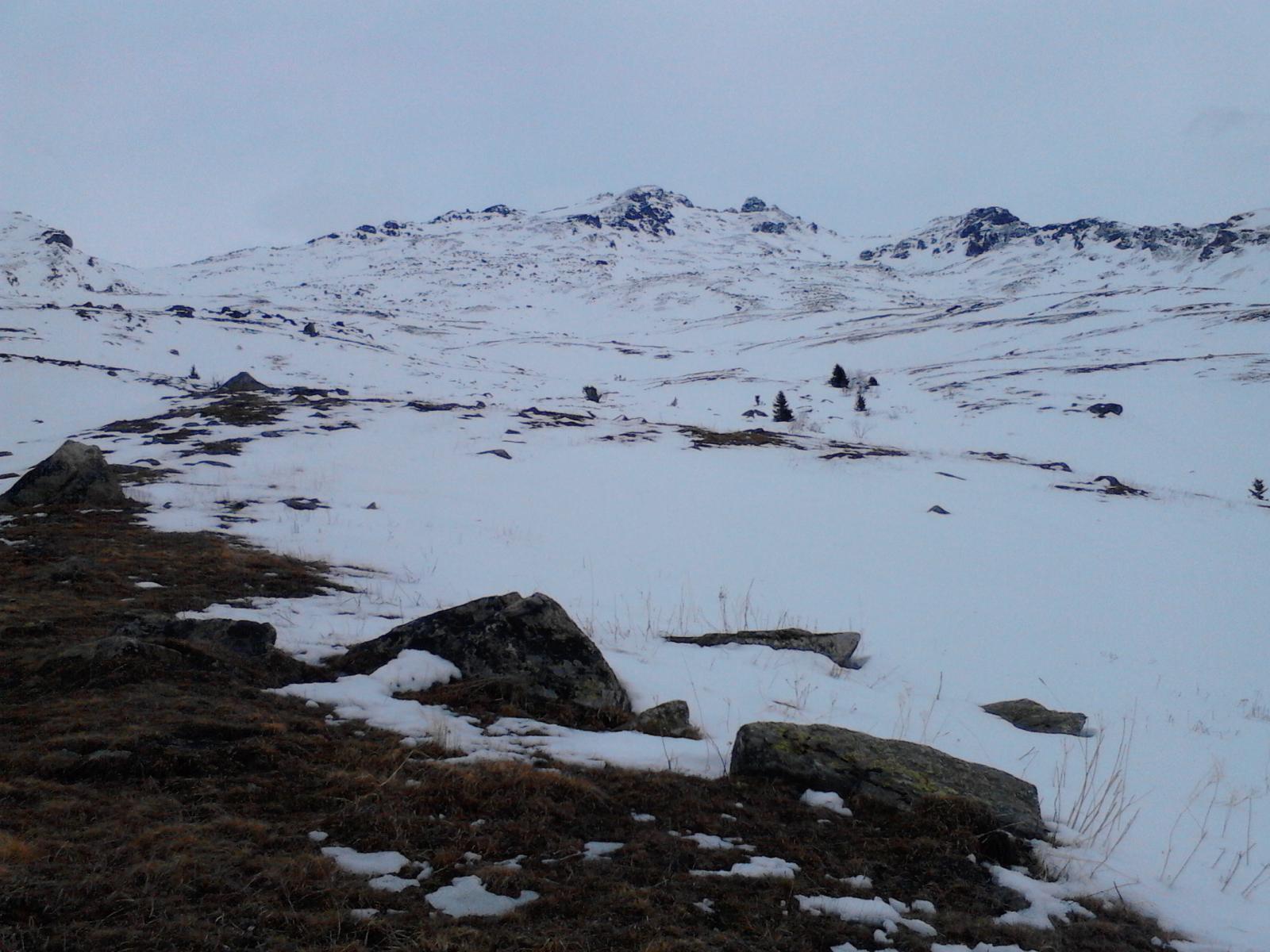 03 - Dagli chalet verso il Mont Brequin