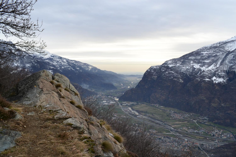 tratto panoramico del sentiero