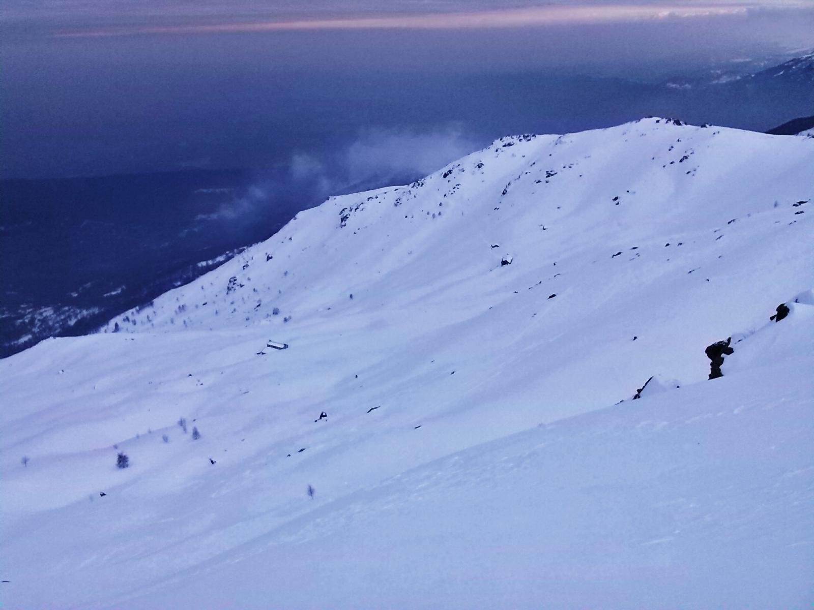 Verso l'alpe Gre'