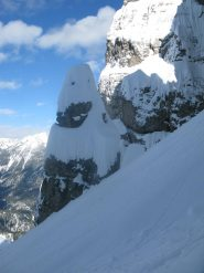 gendarme di neve...