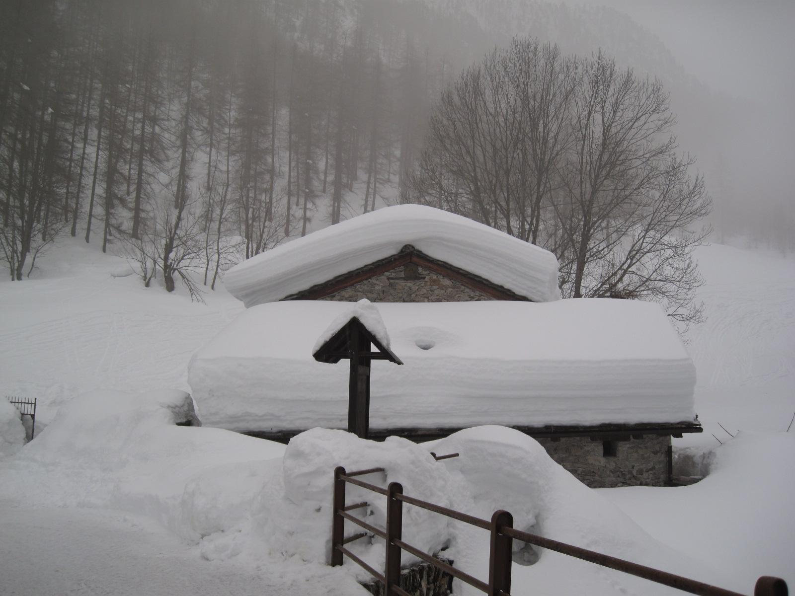 tanta neve a Chialvetta