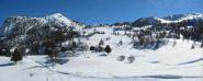 Conca lago nero e Rifugio Brigata Alpina Taurinense