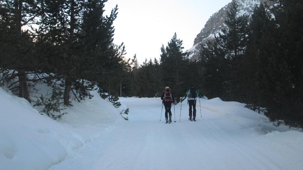 Guido e Renzo verso le Grange di Valle Stretta