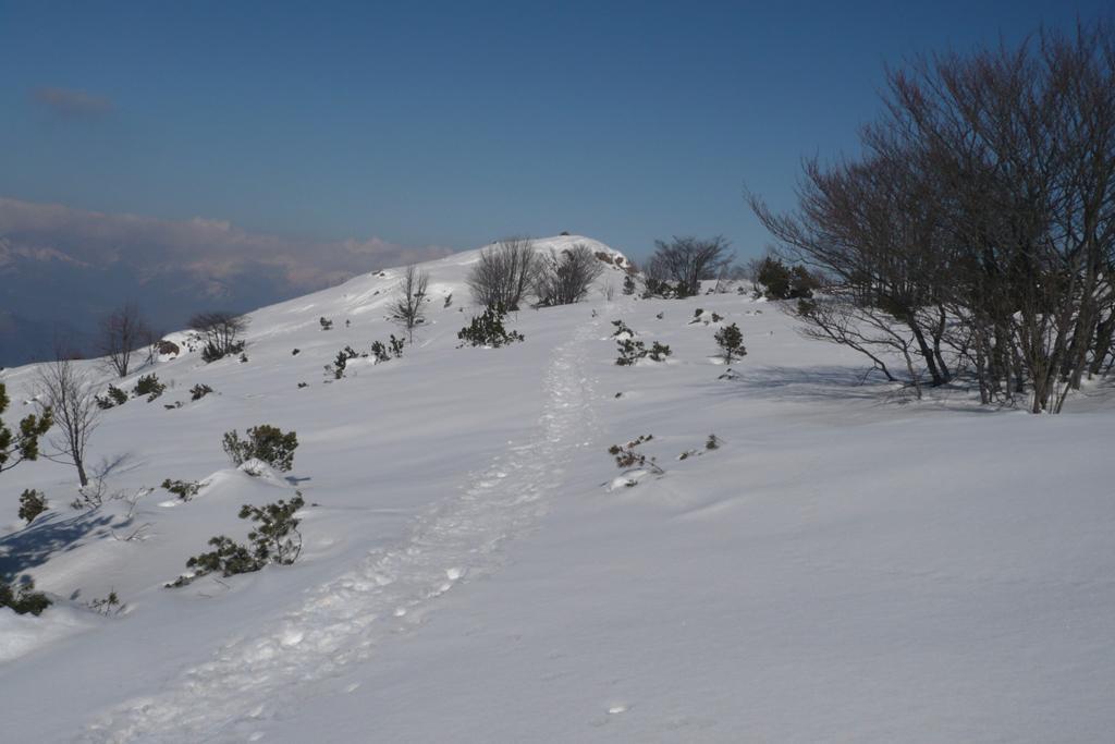 Traverso in cresta per la cima