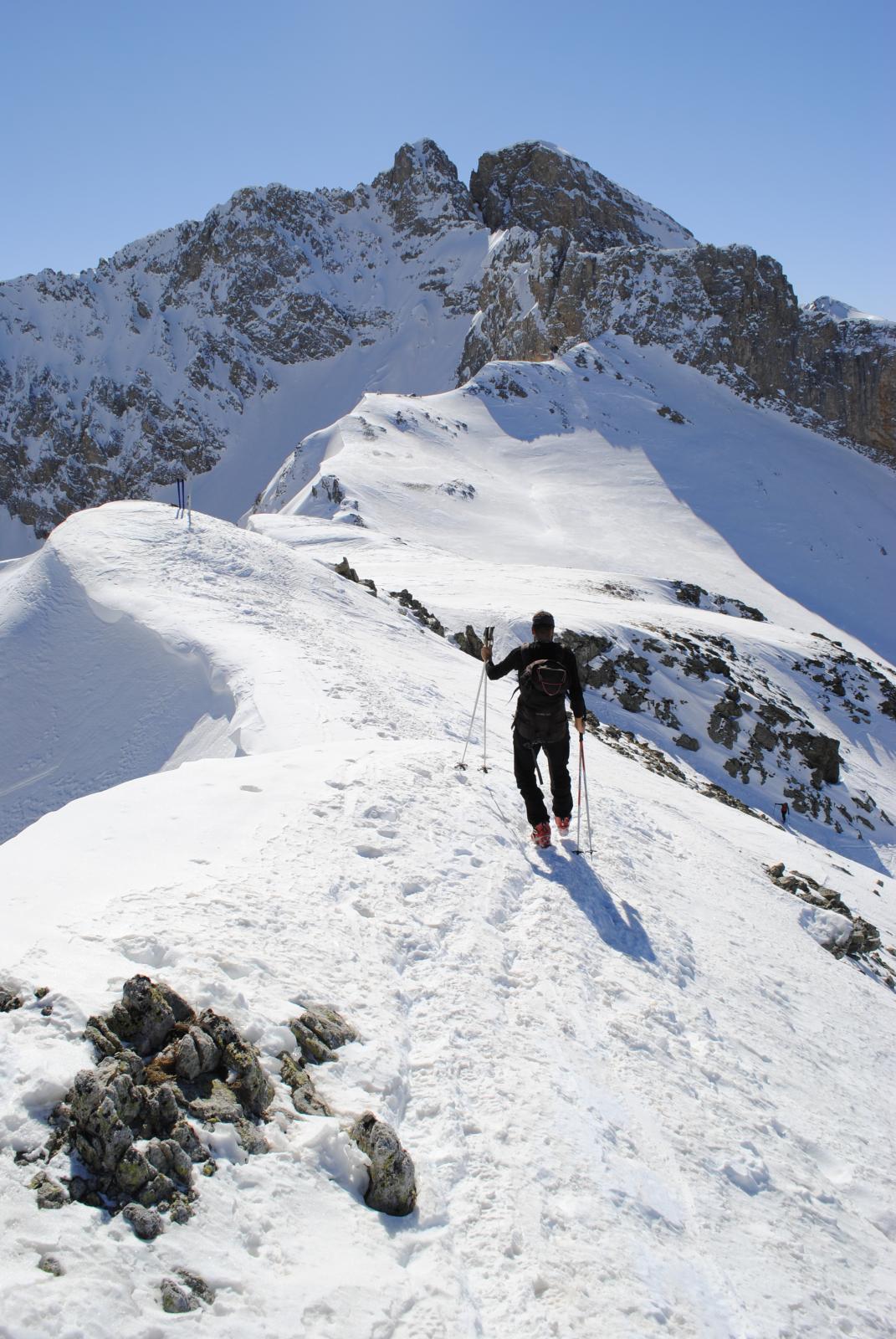 verso gli sci