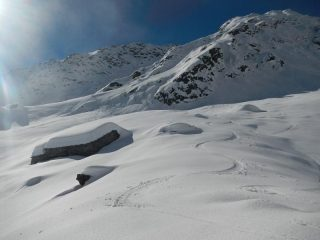 alpe Gavie gran neve
