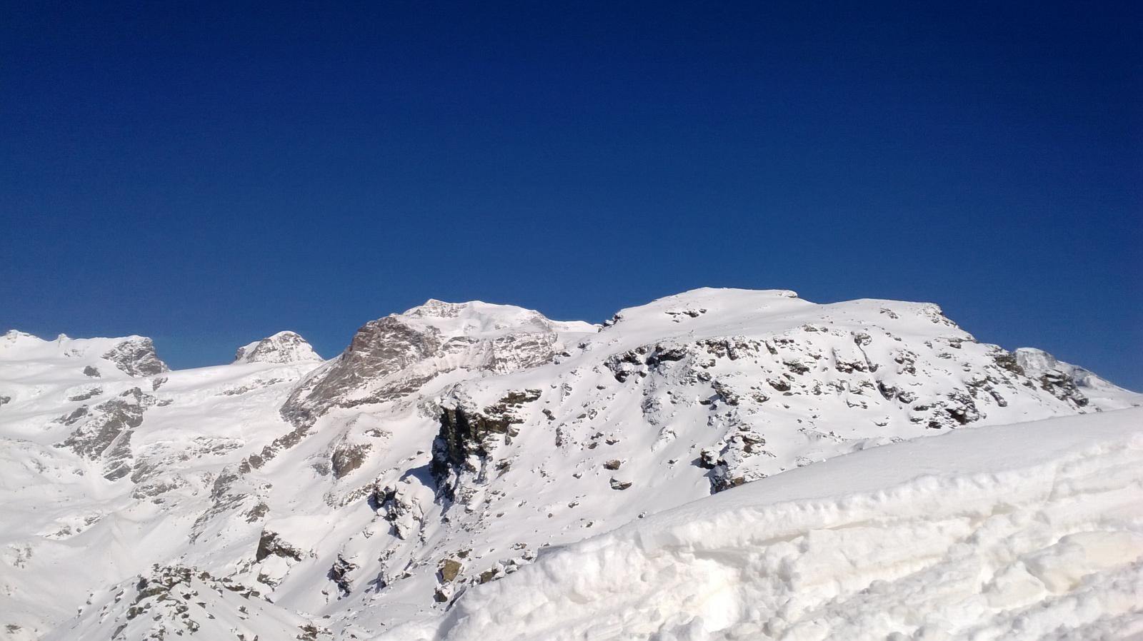 Monte Rosso, Castore e Polluce
