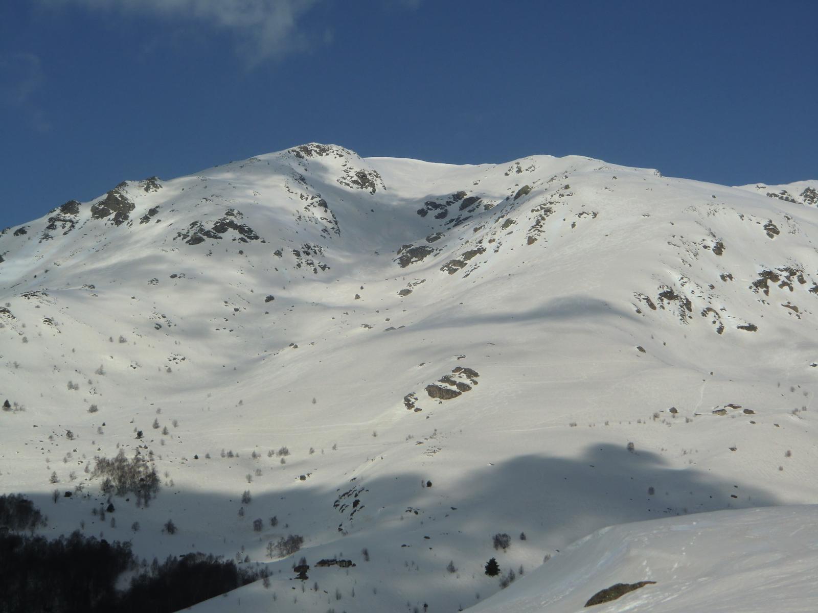 Il Monte La Torretta , versante est