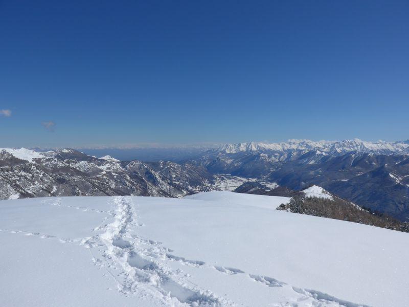 Bisalta e Alpi Liguri dal Monte Corso del Cavallo