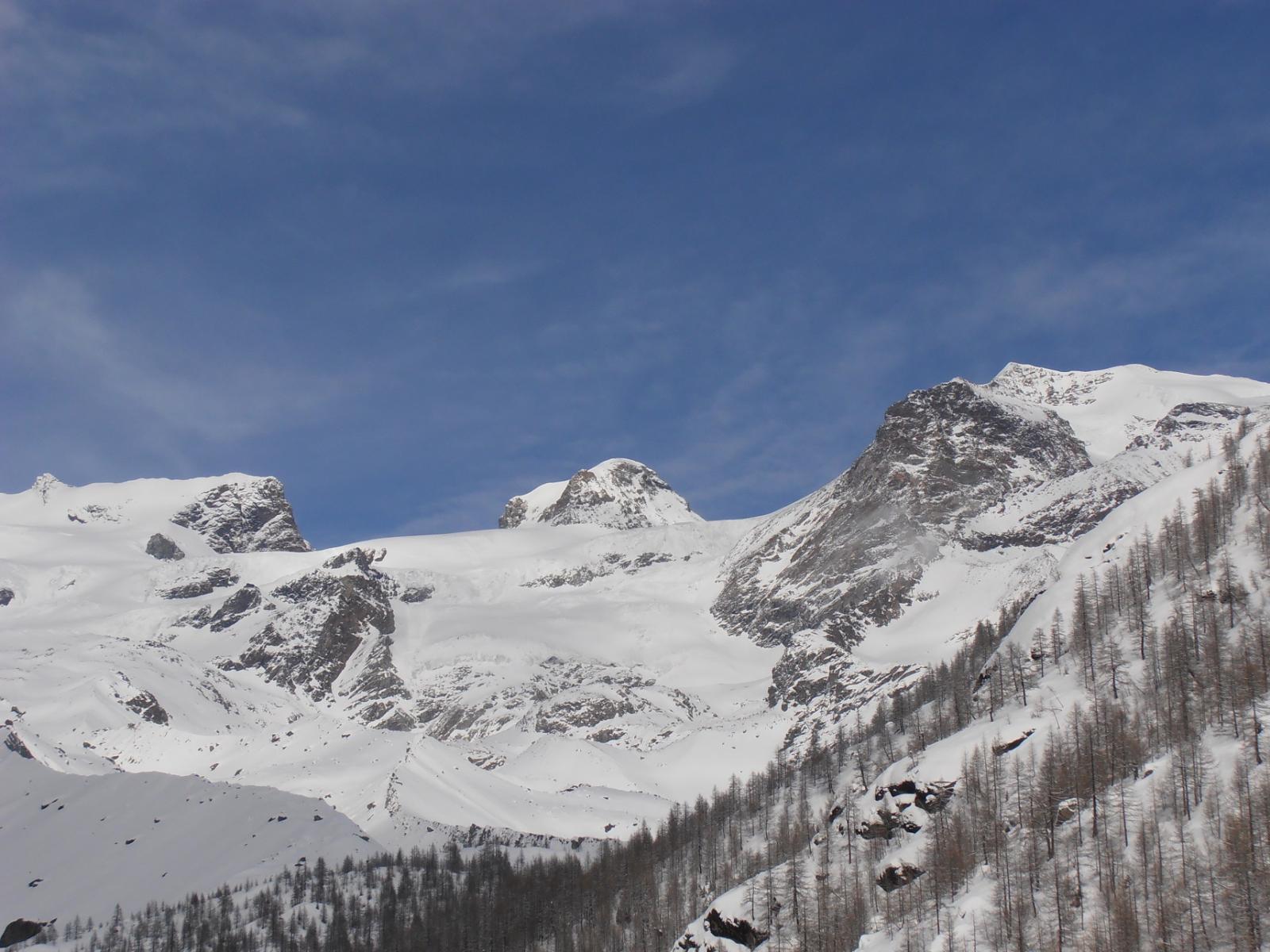 04 - Dettaglio Roccia Nera, Polluce, Castore